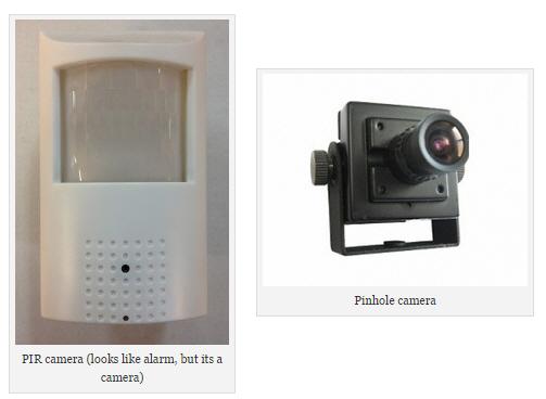 Hidden surveillance spy cameras for home complete alarms