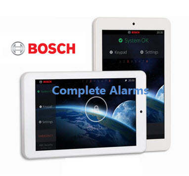 bosch touchone touch screen keypad complete alarms sydney. Black Bedroom Furniture Sets. Home Design Ideas